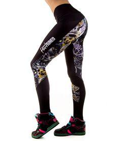 Booty Kicks Classic Wheel Leggings – HardTuned Store