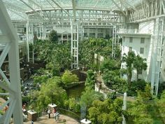 Cascades Gardens at Opryland Hotel, Nashville: one of several spots in the hotel reputed to be haunted. See Ghosts and Haunts of Tennessee: http://www.booksamillion.com/p/Ghosts-Haunts-Civil-War/Christopher-Kiernan-Coleman/9781558537859?id=5826563501315