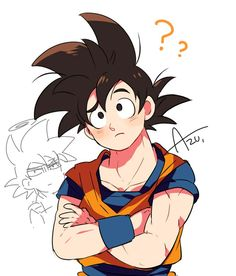 Dragon Ball Z, Chibi, Manga Anime, Beautiful Dragon, Pokemon, Pikachu, Otaku, Son Goku, Illustrations