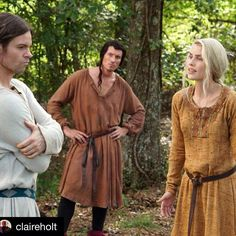 """""""#TheOriginals returns tonight at 9/8c on The CW!  #Repost @claireholt ・・・ If you want to see @mr.danielgillies look better than me in a dress, tune in…"""""""