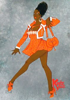 ''Kinky Boots'' broadway musical, costume design by Gregg Barnes