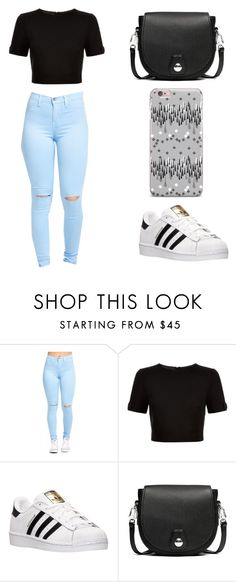 """""""Sin título #119"""" by karenrodriguez-iv on Polyvore featuring moda, Ted Baker, adidas y rag & bone"""
