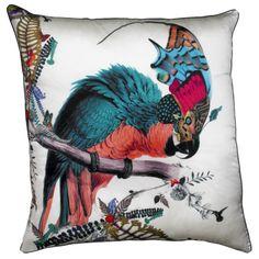 Lear Gaukur 07 cushion (76cm x 76cm) in silk, £155. Also in other sizes