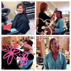 Wasn't sure where to pin this - But what a great idea. Doing hair Blowouts for breast cancer survivors. @Do. Active Products  @B J Grand Salon and Spa #BraDayUSA