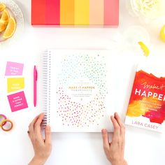 Sold out for 2016! Pre-order the PowerSheets Six-Month Worksheet Set here. Goodbye pressure-filled goal setting and resolutions; hello intentional results...