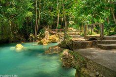 Path to Kawasan Falls, Cebu, Philippines (by Greg Samborski). Wonderful Places, Beautiful Places, Kawasan Falls, Travel Memories, Cebu, Oh The Places You'll Go, Beautiful World, Mother Nature, Philippines