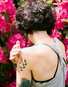 A Line Short Curly Haircuts for Girls
