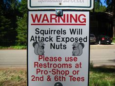 funny signs ~