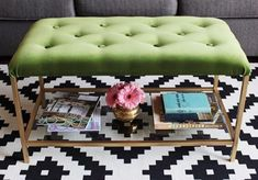 The best Ikea hack ideas we've seen. These Ikea hacks are stylish and allow you to create designer furniture cheaply. Find ideas for your Ikea hack project. Ikea Nesting Tables, Ikea Table, Ikea Vittsjo, Diy Casa, Best Ikea, Cocktail Ottoman, Home And Deco, Ikea Furniture, My New Room