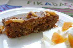 Italiaanse kastanjecake of castagnaccio ~ minder koolhydraten, maximale smaak ~ www.con-serveert.nl