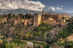 The Alhambra, Granada, España
