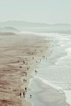 Ocean Beach, San Francisco. Photographed by Leslie Anne Gonzales