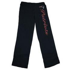 Official New England Patriots ProShop - Ladies BIII Burnout Pants-Navy d6dcc3f48