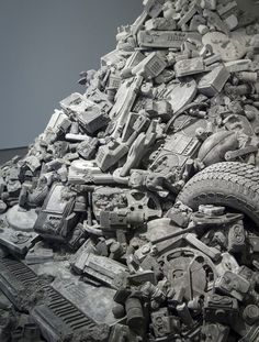 Daniel Arsham welcome to the future 2015