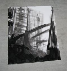 Mass Effect  City in Decay Painting  Styled after by artbymargit, $42.00