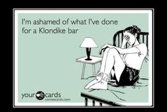 What would you do for a Klondike bar night. Have a list of embarrassing things they could do