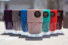 Nails Inc. Gel Effect Polishes Review & Swatches
