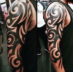 Tribal Tattoos Sleeve