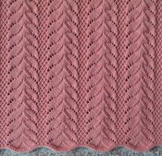 Nice leaf pattern with schema you can use it at cardigan, vest, sweater, dress and many other design. Baby Knitting Patterns, Lace Knitting Stitches, Knitting Designs, Crochet Patterns, Knitting Projects, Knitted Baby Blankets, Filet Crochet, Free Pattern, Star Wars