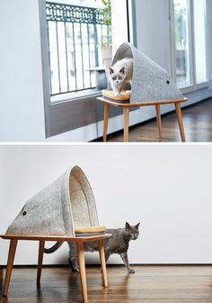 Mid century modern cat furniture Spoiled Pets Pinterest