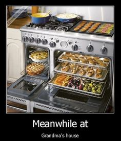 And all I can say is: I want this oven!!
