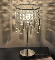 94.52$  Buy now - http://ali0hw.worldwells.pw/go.php?t=32696487207 - Crystal led desk table lamp for bedroom beautiful crystal bedside light luminaria de mesa e27 bulb AC100-240V 94.52$