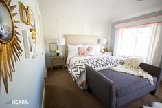 withHeart master bedroom makeover (enter on Ivory Lane to win)