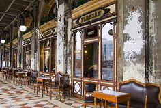 Caffê Florian (Venezia) Il caffê piú antico d´Italia.