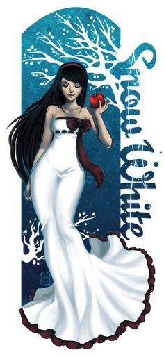"""Snow White ~ Jennifer Duong aka """"bw-inc"""""""