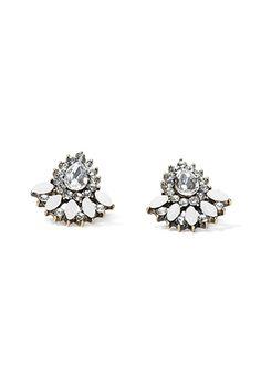 Faux Stone Teardrop Earrings | Forever 21 - 1000053005