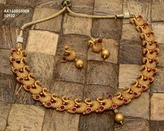To buy please WhatsApp on 9703870603 Indian Wedding Jewelry, Indian Jewelry, Bridal Jewelry, Ruby Jewelry, Gold Jewellery, Temple Jewellery, Italian Gold Jewelry, Gold Earrings Designs, Ppr