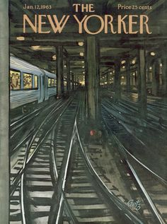 The New Yorker Cover - January 12, 1963 - Arthur Getz