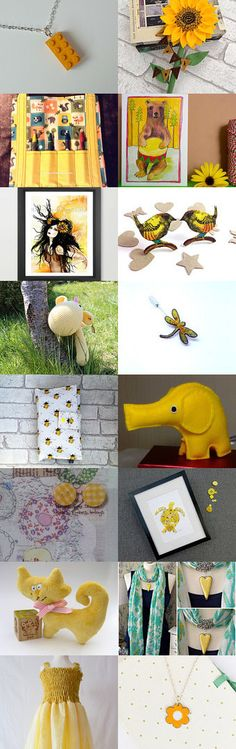 Sunny Side Up by Jean on Etsy