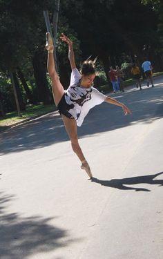 signature dance move. Tilt kick. Still attempting this as time passes