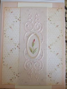 Book: Extraordinary Embroidery on Paper   By Erica Fortgens   Page 72   Pattern Q4   Book: Basic Embroidery on Paper     By Erica Fortgens   Page 112   Pattern 3   Thread Sulky