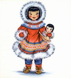 Hallmark - Dolls of Many Lands - Eskimo