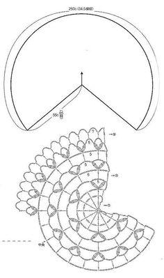 Crochet Shawls: Crochet Lace Cape Pattern Free- 2 of 3