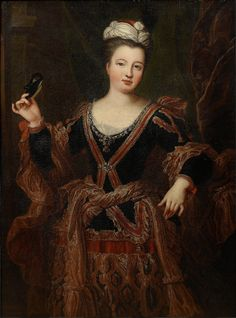 MADEMOISELLE DANGEVILLE, MARIE-HORTENSE RACOT DE GRANDVAL (1676-1769), French actress, late 17th century, French school