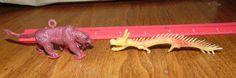 LIDO dinosaurs prehistoric Mammal Smilodon (sabertooth & Chinese Dragon mini #LIDO