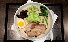 The Shio Tonkotsu ramen at Ramen Raijin