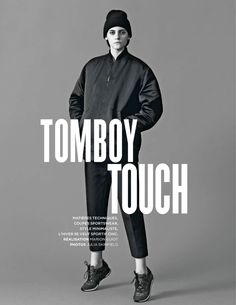 visual optimism; fashion editorials, shows, campaigns & more!: tomboy touch: serena archetti and harper by julia skinfield for be november 2014