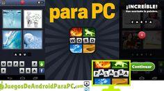 Descargar 4 Fotos 1 Palabra para PC Google Play, Android, Games, Words, Club America, Dios, Gaming, Plays, Game