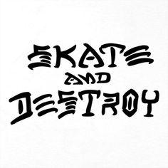 2808542d41 Camiseta Thrasher Magazine Skate And Destroy Branca Multicolorido