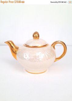 Vintage Ornate Elegant Teapot
