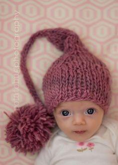 newborn elf hat from abitofstring on etsy cross strap baby