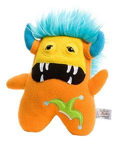 Love this Beasty Buddies Orange Jasper Monster Plush by Beasty Buddies on #zulily! #zulilyfinds
