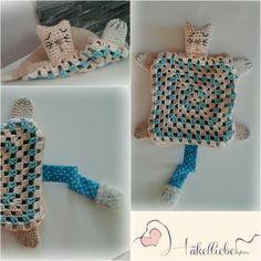Baby blanket cat ♡ https://m.facebook.com/haekelliebe