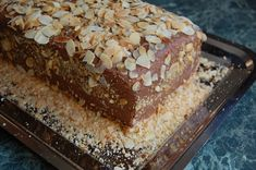 Csokitorta (ganache krém mascarponeval) - Eszterlánc főz Tiramisu, Banana Bread, Ale, Baking, Ethnic Recipes, Food, Mascarpone, Ale Beer, Bakken
