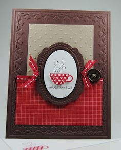 Laura's Works of Heart: PATTERNED OCCASIONS CARD: