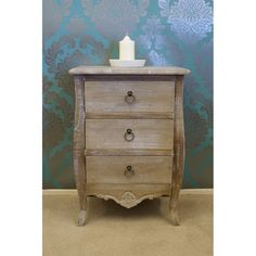 Inspired by the classic shabby elegance appearance, the La Rochelle collection features a lovely wood-washed finish for that 'old worn' appearance. 3 Drawer Bedside Table, Dresser As Nightstand, Bedside Tables, Drawers, Shabby, Traditional, Contemporary, Cabinet, Bedroom